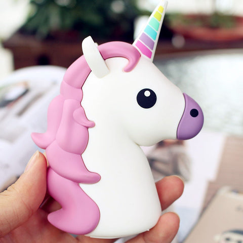 Pink Unicorn Powerbank Charger