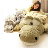 Adorable Oversized Crocodile Plush Toy