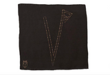 Kids Personalised Black - Square Scarf