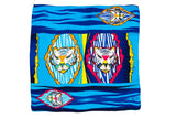 Men Colourful Tigers - Square Scarf