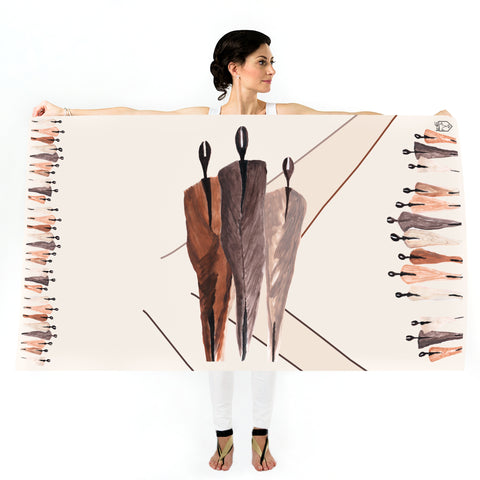Women Desert People - Oversized Scarf