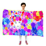 Women Flower Lover - Oversized Scarf