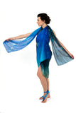 Women Humming Birds - Oversized Scarf