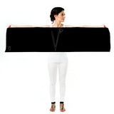 Women Personalised Black - Long Scarf
