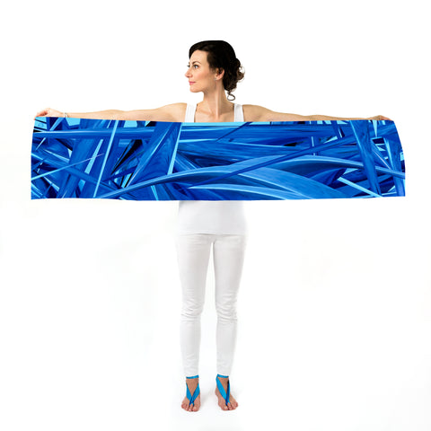Women Ocean Waves - Long Scarf