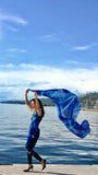 Women Ocean Waves - Maxi Sarong Scarf