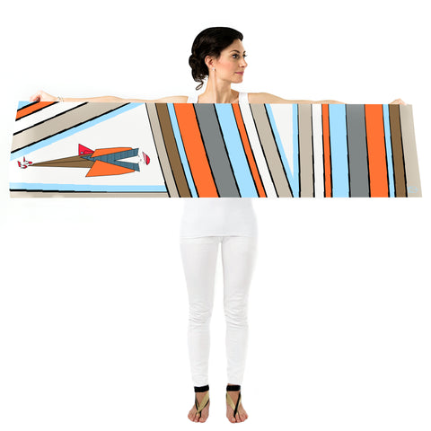 Women Stripe Addict - Long Scarf