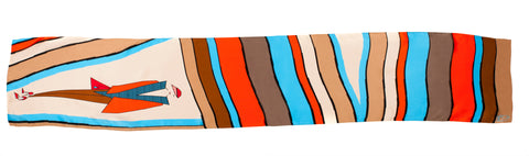 Men Stripe Addict - Long Scarf