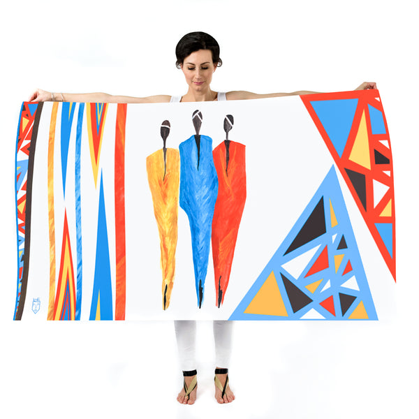 Women Tribe Vibe - Oversized Scarf