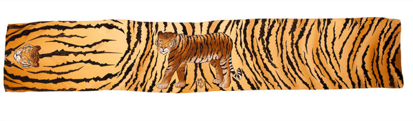 Kids Wild Tiger - Long Scarf