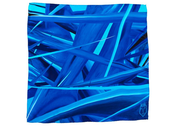 Men Ocean Waves - Pocket Square Scarf