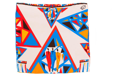 Women Tribe Vibe - Pocket Square Scarf