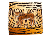 Women Wild Tiger - Square Scarf