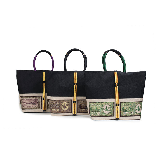 Postal Stamp Tote Bag