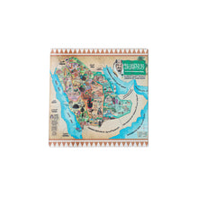 Plexiglass coaster with our in-house designed detailed map of the Kingdom