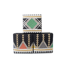 Group of traditionally embroidered small box