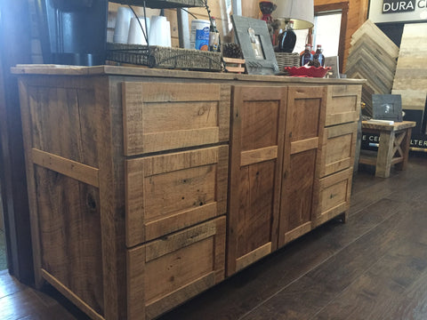 Reclaimed Kictchen Cabinet
