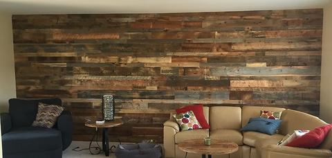 Versawood Accent Wall