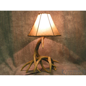 Whitetail 2 Antler Table Lamp