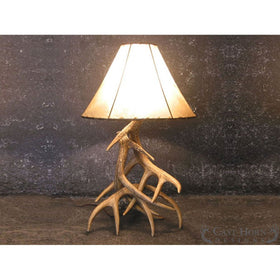 Whitetail 3 Antler Table Lamp