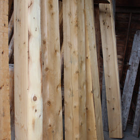 Rough Sawn Cedar Beam - White Cedar