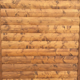 White Pine Smooth Log Siding