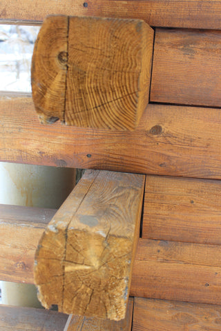 Log Corners and Trim