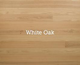 Plankwise Woodward Unfinished - White Oak
