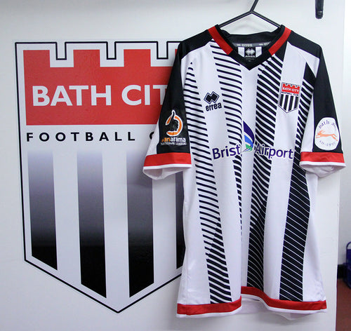 Bath City Home Shirt Season 2018/19 - LIMITED NUMBERS OF SIZES YXS AND XS STILL AVAILABLE FOR XMAS DELIVERY! !
