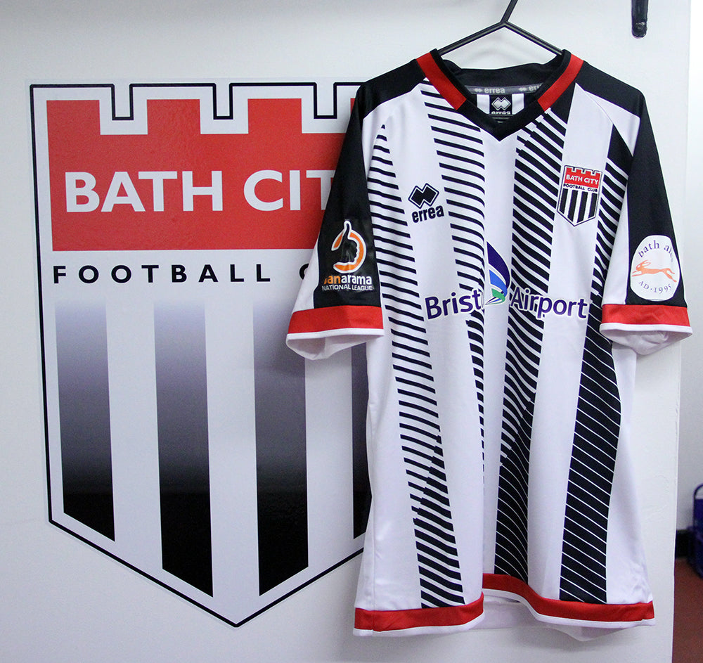 Bath City Home Shirt Season 2018/19 - Adult  ** LAST FEW!**
