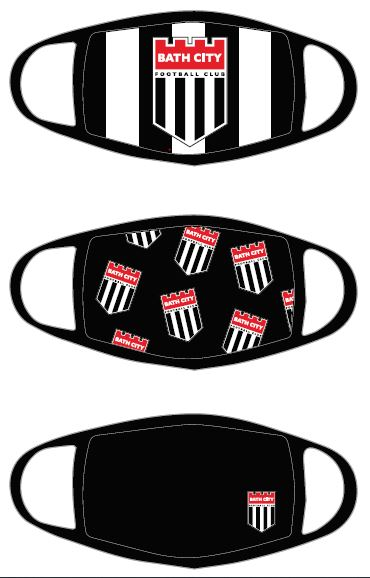 BATH CITY BRANDED FACE COVERINGS - Out of Stock