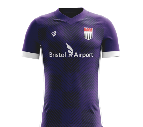 LOCKDOWN SALE! SAVE 50% - Bath City Away Shirt 2019/20 - Adult **4XL ONLY**