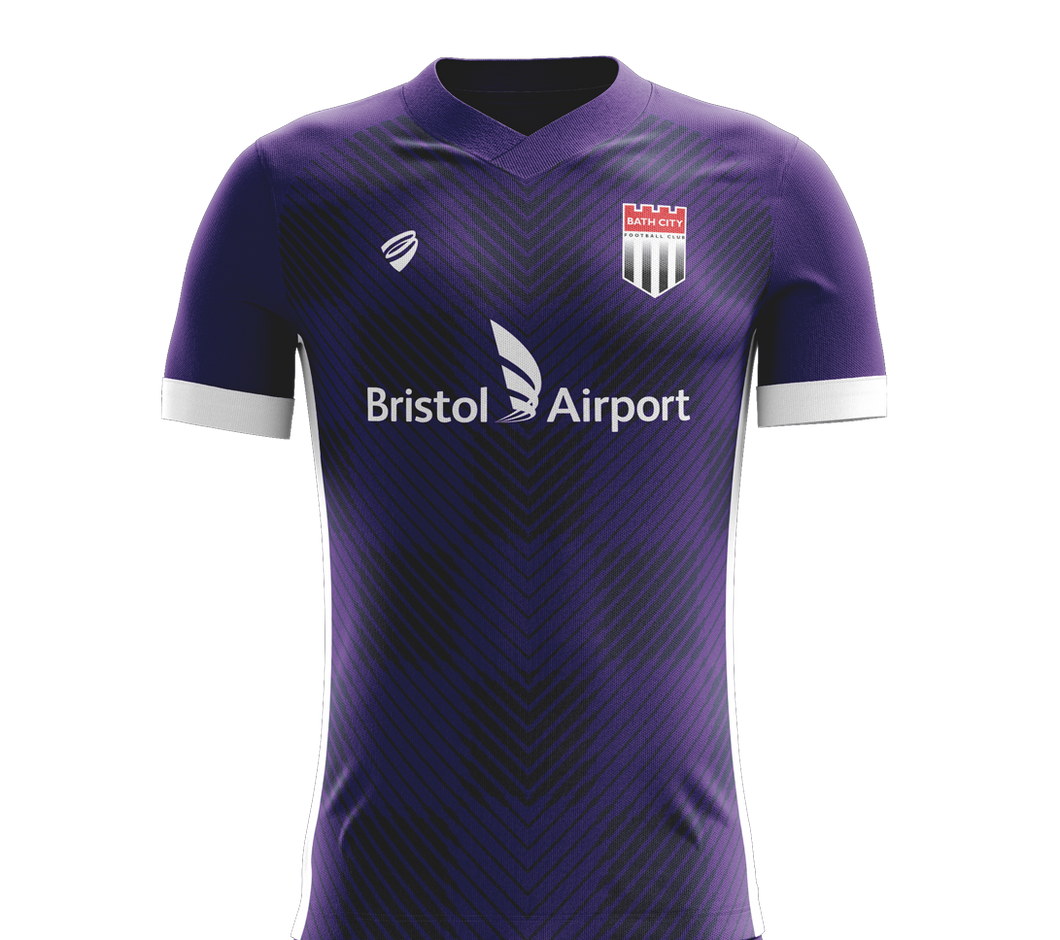 LOCKDOWN SALE! SAVE 50% - Bath City Away Shirt 2019/20 - Adult ** SOLD OUT **