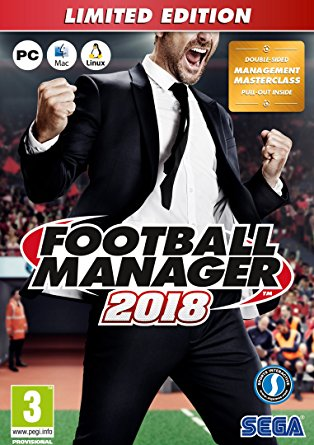 NEW! Football Manager 2018 - Limited Edition Sega PC/MAC/Linux