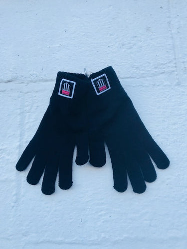 BATH CITY FC GLOVES ** BACK IN STOCK - NEW CHEAPER PRICE! PAIR WITH A BEANIE OR BOBBLE HAT FOR A PERFECT CITY WINTER LOOK!