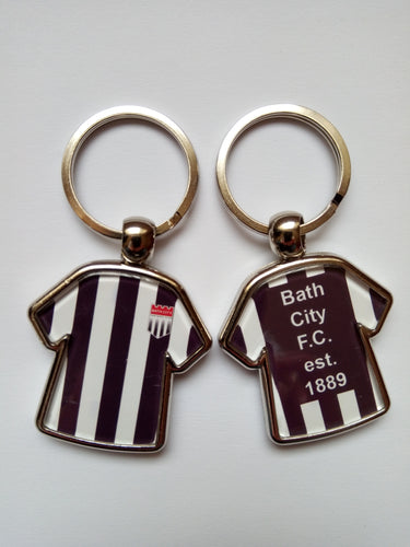 NEW - Bath City Shirt-Shaped Key Ring