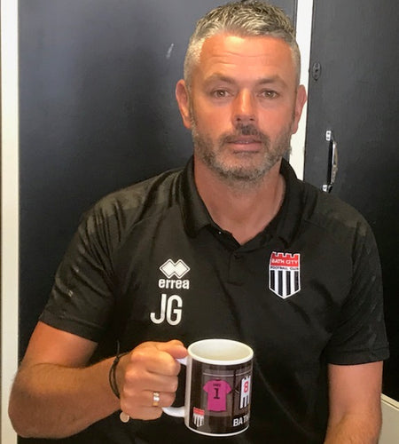 SOLD OUT! New-design mug coming soon! ** Bath City Mug (with strip design)
