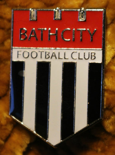 Bath City Metal Pin Badge (Crest)