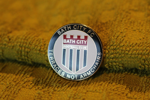Bath City Metal Pin Badge (Terraces)
