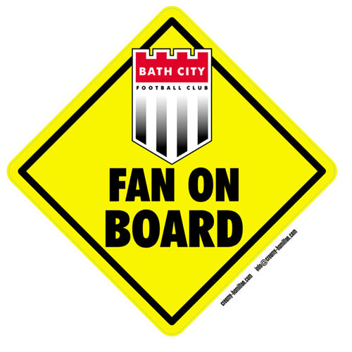 Fan on Board Sticker