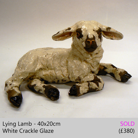 spring lamb sculpture