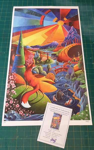 Guardians of Fuji - Limited Edition Print