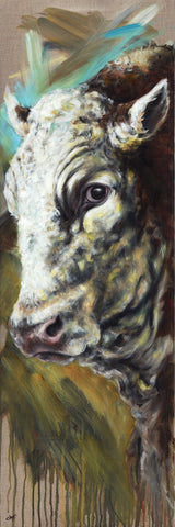 Big Ted - A Portrait of a Simmental Bull
