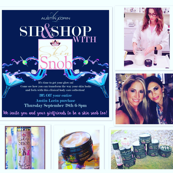Come Check Us Out...Find Out Why Everyone Wants To Be A Skin Snob!