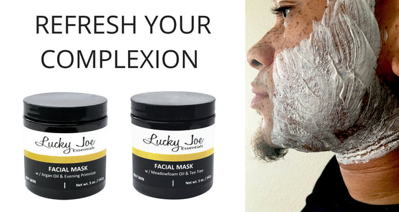 LUCKY JOE ESSENTIALS FACIAL CLAY MASK