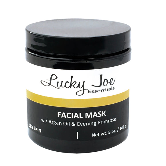 Clay Facial Mask For Dry Skin - Lucky Joe Essentials