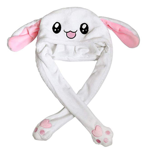 Cute  Plush Moving Bunny/Panda Hat with Popping Ears