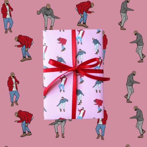 Hip-Hop Rapping Paper | Fun Gift Wrapping Paper Design