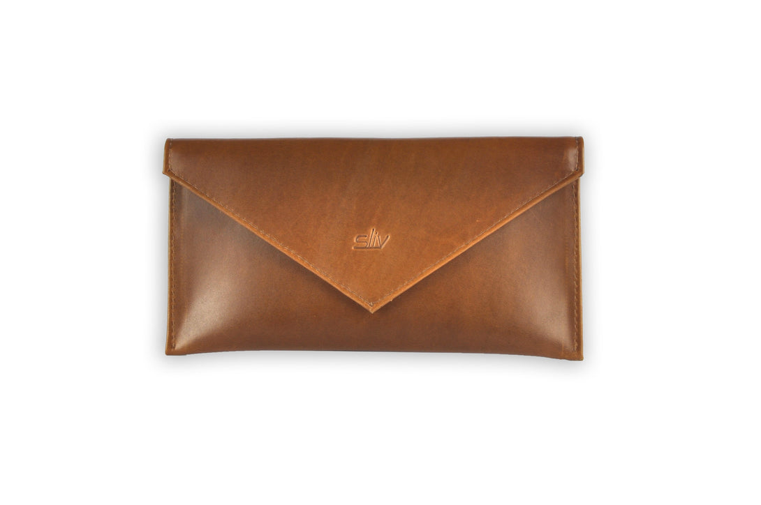 Verona Multi-purpose Leather Envelope in Copper