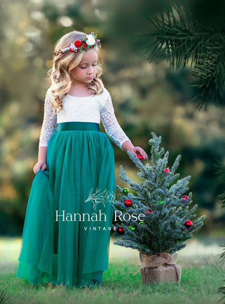 flower girl and special occasion dresses by Hannah Rose Vintage